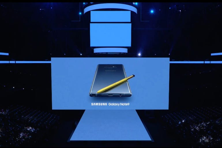 Galaxy Note 9: It's official!