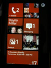 Image Gallery: Start screen on WP7