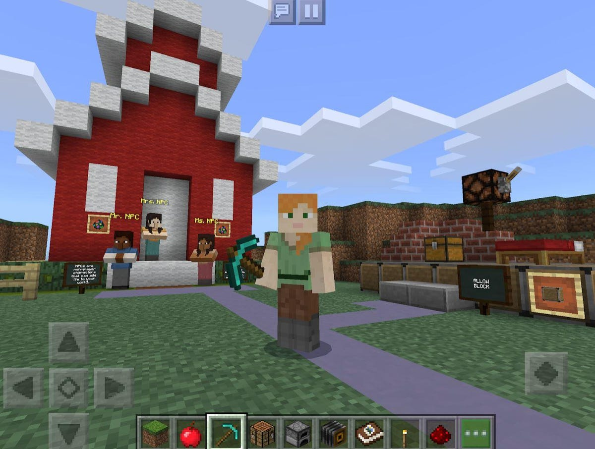 Microsoft releases Minecraft Education Edition for Chromebooks ZDNet