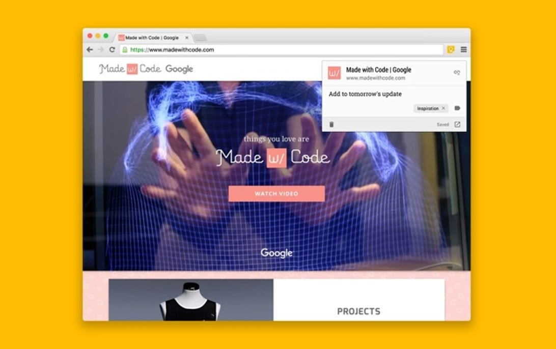 ExtensionGoogle Keep Chrome Extension