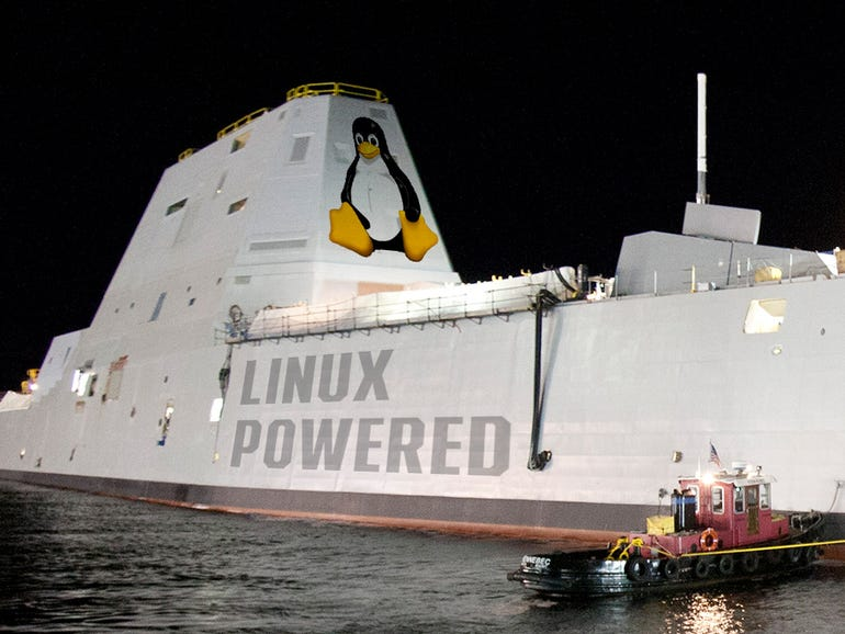 Powered by Linux