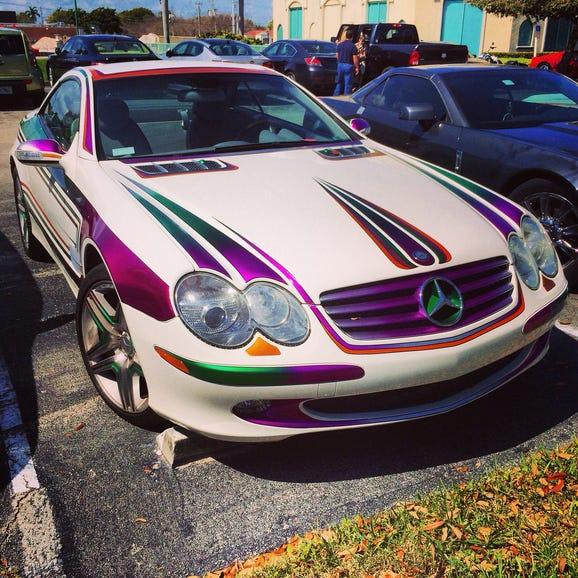 Mercedes AMG Tasteless Paint Job