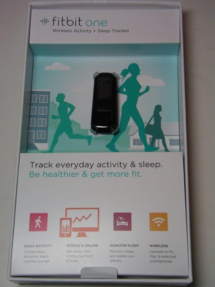 Fitbit One retail package