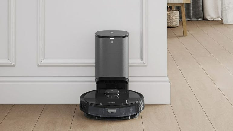 Ecovacs Deebot N8 Pro+ robot vacuum review a two-in-one robot vacuum with auto-empty station included zdnet