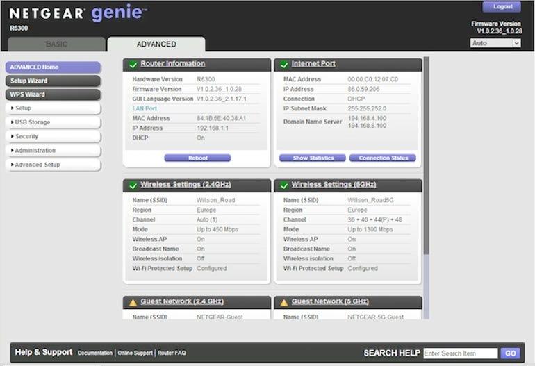 Netgear-R6300-interface