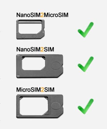 Nano-SIM adapter sleds - Jason O'Grady