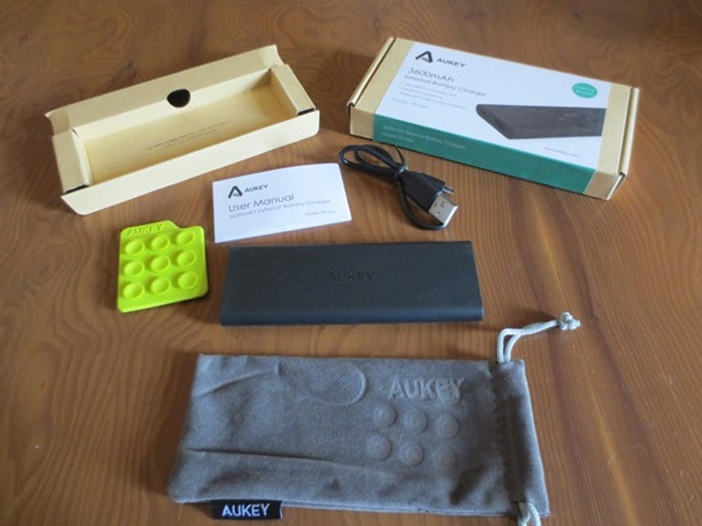 Review: comparison of Aukey external battery chargers 3600mAh ZdNet