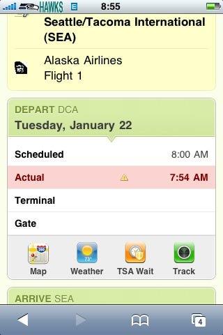 iPhone Travelocity 2