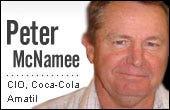 Peter McNamee, Coca Cola Amatil CIO