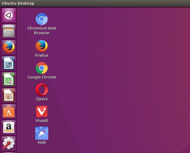 Ubuntu Linux Web Browsers