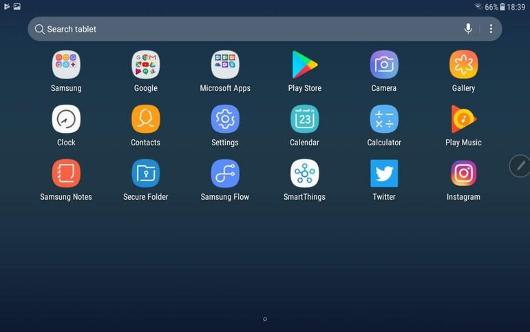 App launcher with just the basics