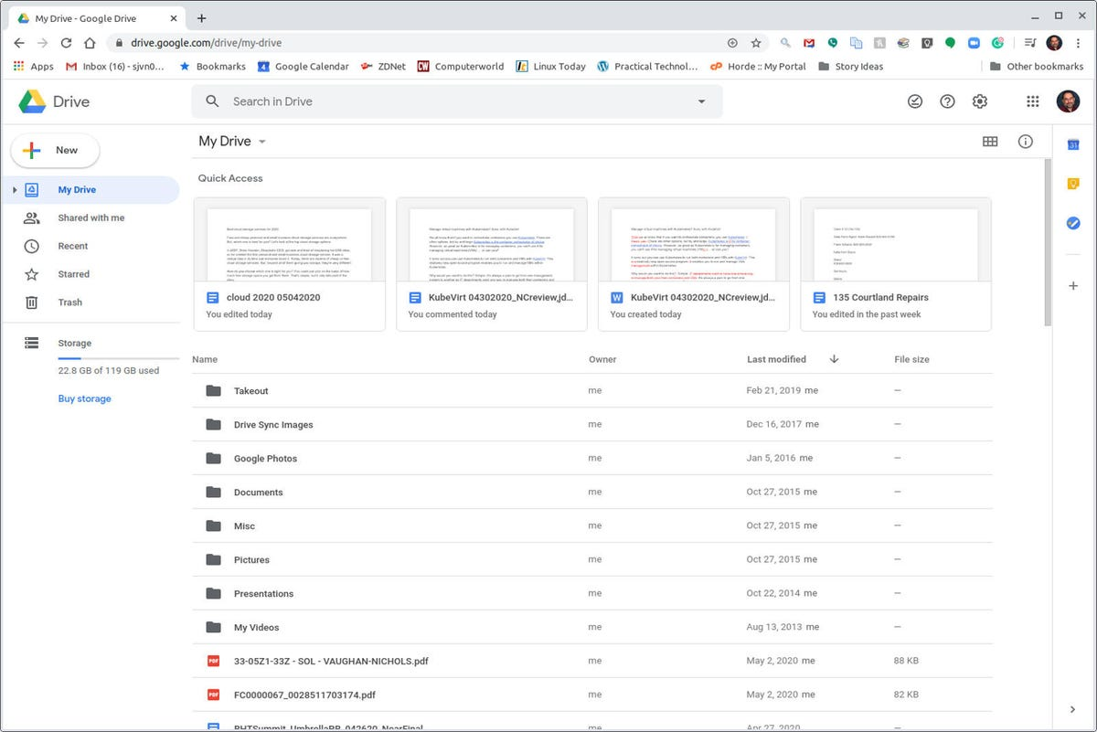 Google Drive 2020