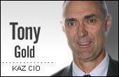 Tony Gold, KAZ Business Services CIO