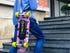 Blink electric skateboard