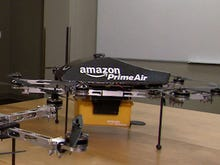 'Get the drone to drop the parcel off at my boat': Amazon details ambitious delivery plans