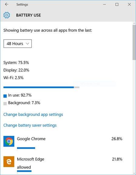 Hunt down battery-draining apps
