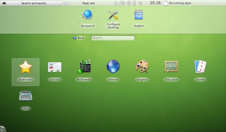openSUSE 12.2 Netbook