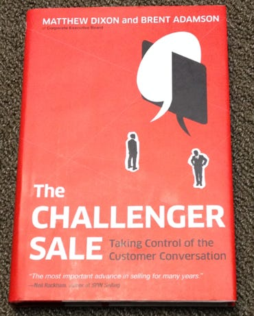 challenger sale book