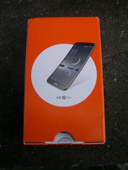AT&T LG G Flex retail box