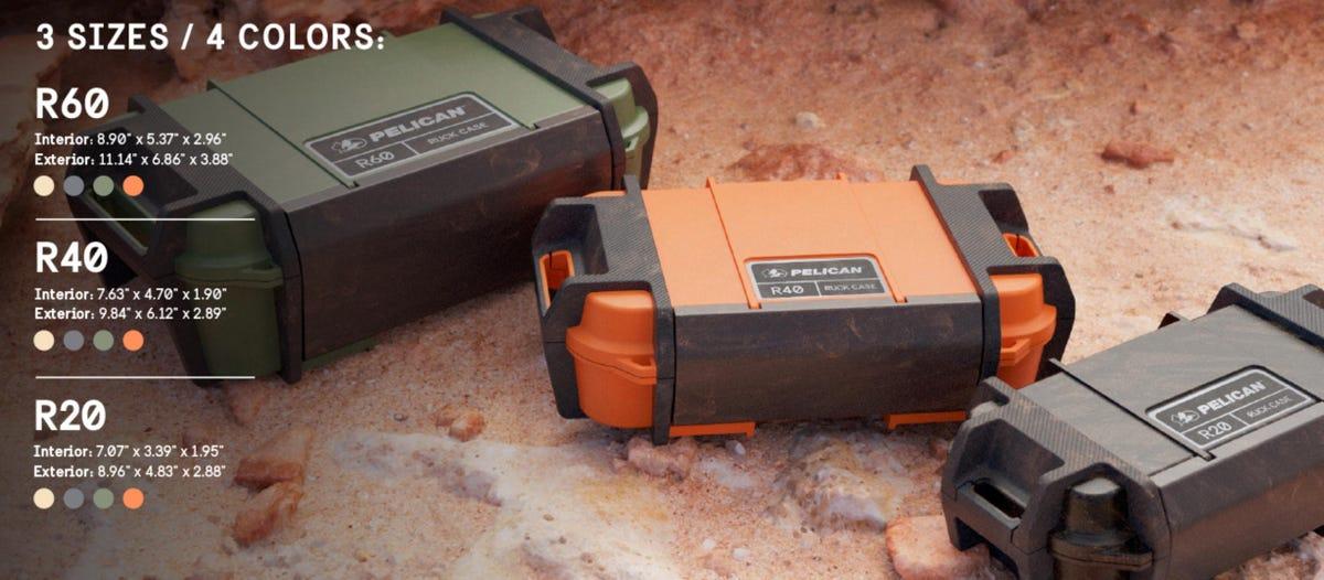 Peli Ruck Case range