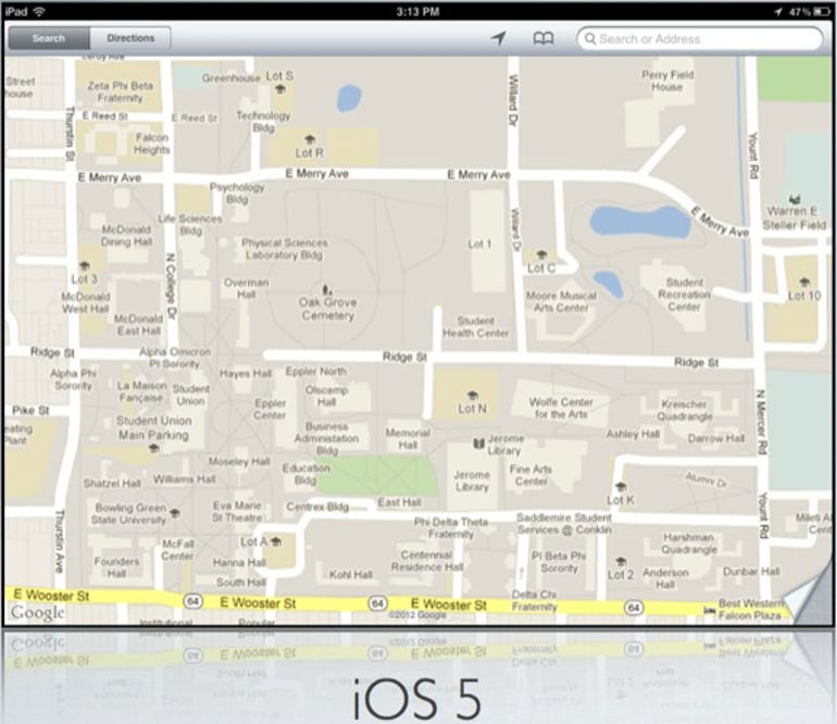 Bowling Green State University - iOS 5