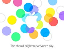 Apple sends invites for September 10 event