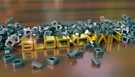 Blockchain cryptocurrency metaphor