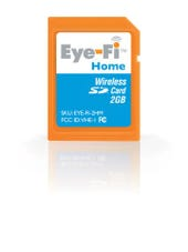 Eye-Fi's new SD memory cards add geotagging and Wi-Fi to any digital camera