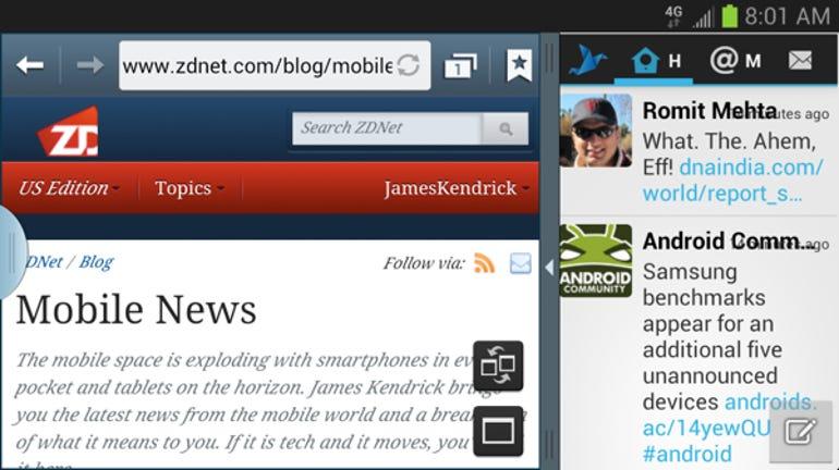 Multiview web twitter