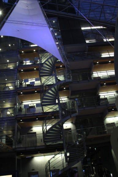 Spiralling stairwells