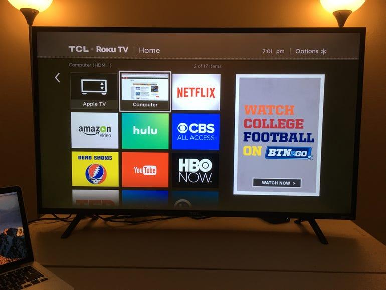 Inexpensive smart Roku TV