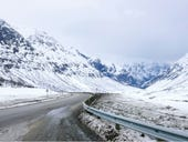 Fibre optic cables could help make driving Norway's remote roads safer