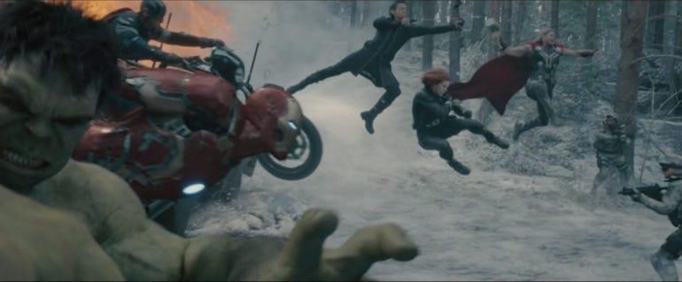 19. Avengers: Age of Ultron (2015)