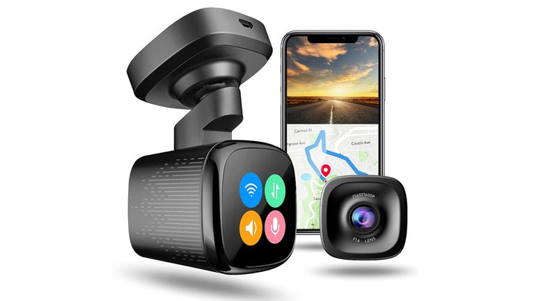 Jomise K7 dash cam review compact monitoring with some cool features zdnet