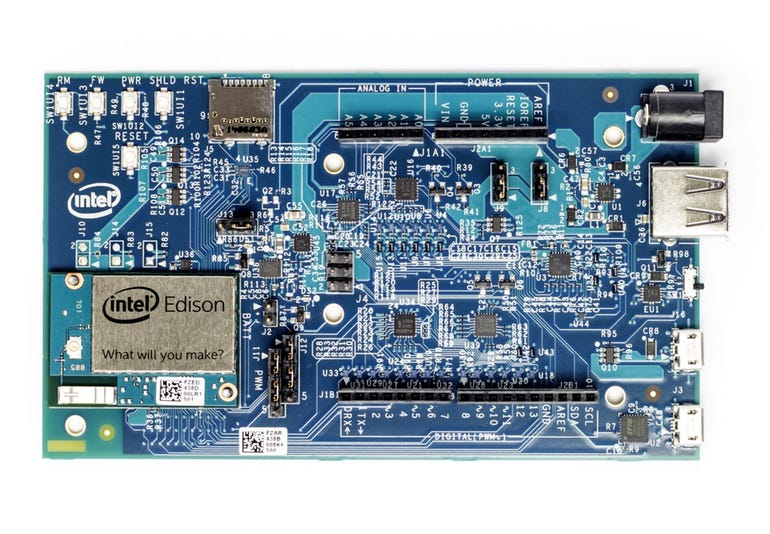 Intel Edison with Kit for Arduino