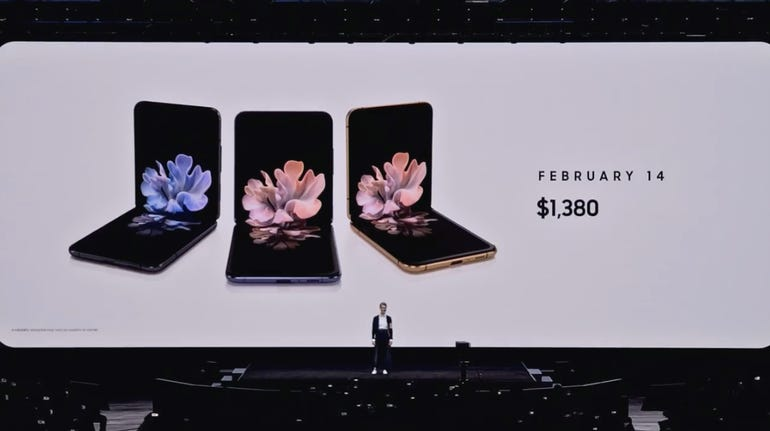 And the Galaxy Z Flip's price!