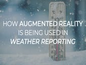 How augmented reality is being used in weather reporting