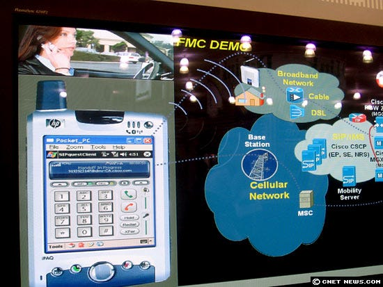 Cisco's cell-to-Wi-Fi software
