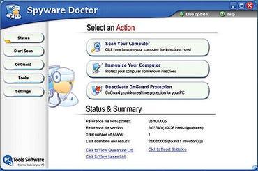 Spyware Doctor 3.2