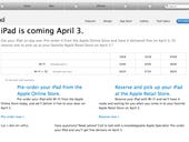 Gallery: the iPad pre-order process