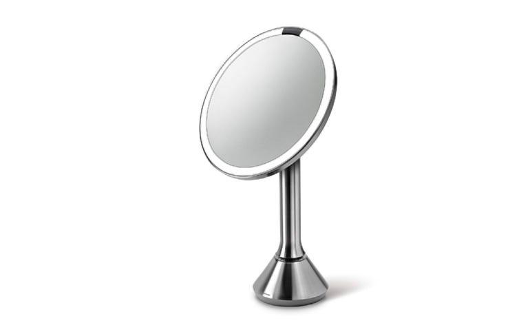 Simplehuman vanity mirror