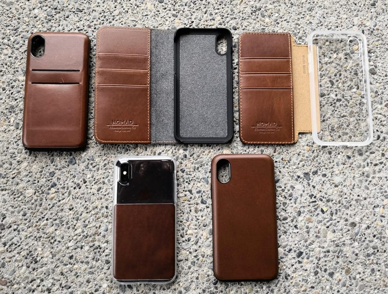 Five new Nomad cases for the Apple iPhone X, unboxed