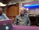 CRM playaz with Pega's Jeff Nicholson at PegaWorld 2018