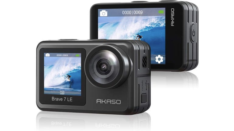 Hands on with the Akaso Brave 7 LE action camera Perfect for vloggers and time-lapse videos zdnet