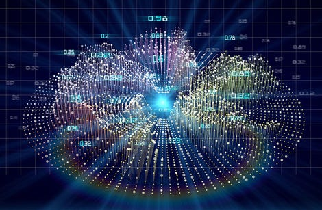 Abstract futuristic concept visualization algorithm analytics of data. Big data. Quantum virtual cryptography. Business visualization of artificial intelligence. Blockchain.