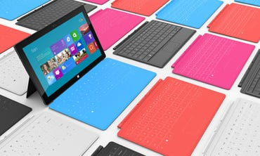 More apps are available at launch for Microsoft Surface than seen for iOS and Android