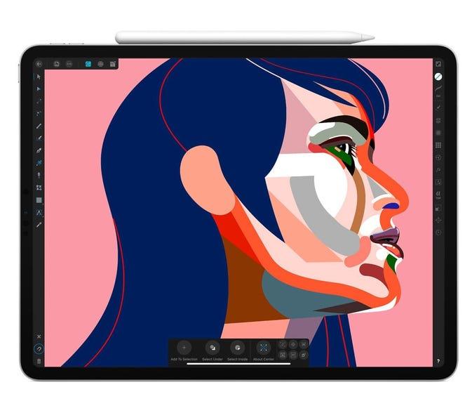 The third-generation iPad Pro