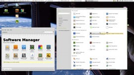 The most popular desktop Linux is Mint with a GNOME 2.32 interface.