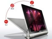 Review: Lenovo's Yoga gives a new twist to Android tablet design
