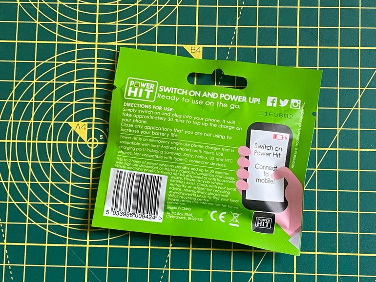 Power Hit Instant Charger